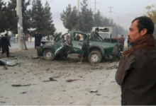A mine blast in Kabul has killed two soldiers
