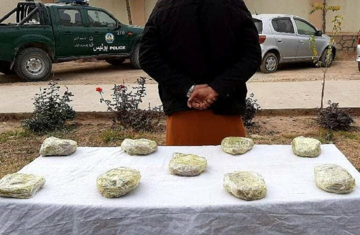 Man arrested with drugs in Kunduz