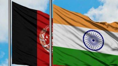 India Afghanistan Flag